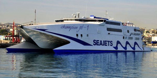 INCAT HULL 044 : 86m CHAMPION JET 1 1